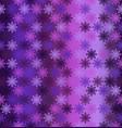 glowing snowflake pattern seamless vector image
