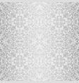 Silver baroque bright pattern vector image
