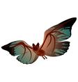 bizarre bat vector image vector image