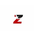 Z logo icons vector image