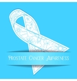 Prostate cancer awareness background vector image vector image