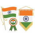 india flags vector image