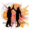 Businesspeople vector image vector image