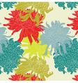 chrysanthemum pattern vector image vector image