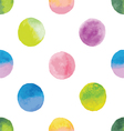 background with watercolor spots vector image