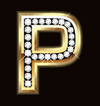 p bling vector image