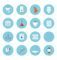 plumbing and heating home equipment vector image