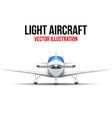 Civil Light Aircraft vector image