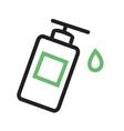 Lotion Bottle vector image