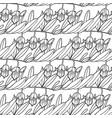 graphic jojoba pattern vector image