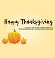 happy thanksgiving day background collection vector image