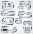 Labels collection vector image