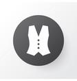 vest icon symbol premium quality isolated vector image