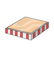 food box product vector image