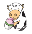 CowMilk vector image