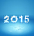 2015 on Ice vector image