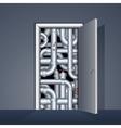 Door to Boiler Room vector image