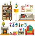 Home furniture vector image