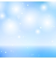 Elegant Blue Sky and Sea Background - Graphic vector image