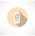 Gear Settings Phone icon vector image