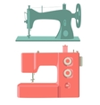 Sewing machines vector image vector image