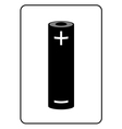 Battery icon 1 vector image