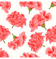 seamless texture pink hibiscus cracks vintage vector image