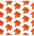Autumn leaves seamless pattern Texture for vector image