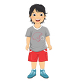 Boy Smiling vector image