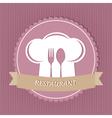 restaurant menu card vector image