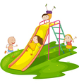 Playground Slide vector image vector image