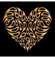 heart design element vector image vector image