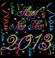 2013 Happy new year vector image