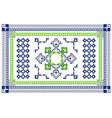 Arabic Style Carpet Design vector image vector image