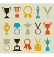 Award in sports vector image