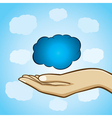 cloud computing concept stock vector image