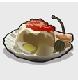 Food image icon for your design needs vector image