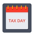 Tax Day Concept vector image vector image