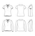 female clothing set vector image vector image