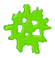 New green slime sign vector image