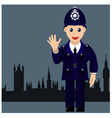 friendly and good cop vector image