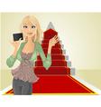real estate agent keys vector image vector image
