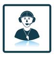 American football coach icon vector image