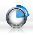 Timer clock vector image vector image