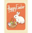 Happy Easter Postcard vector image