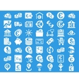 Euro Banking Icons vector image