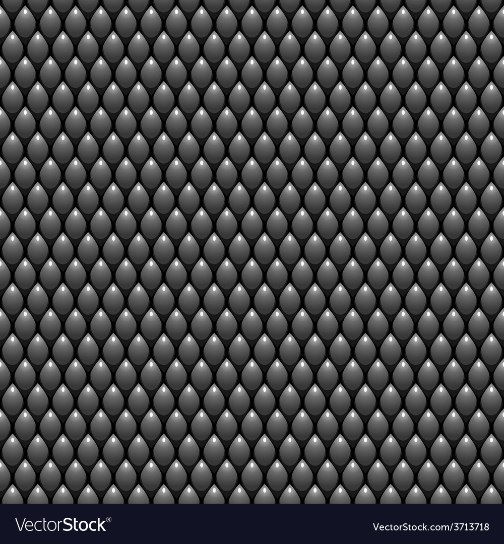 Black scales seamless pattern texture stock vector