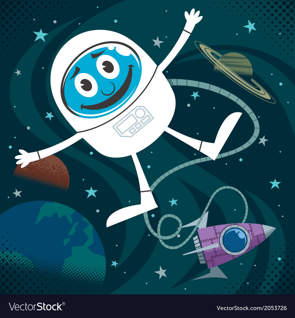 Space fun vector