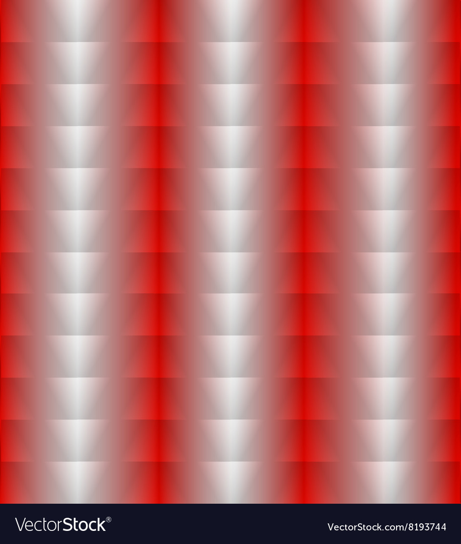 Red silver vertical background of triangles vector