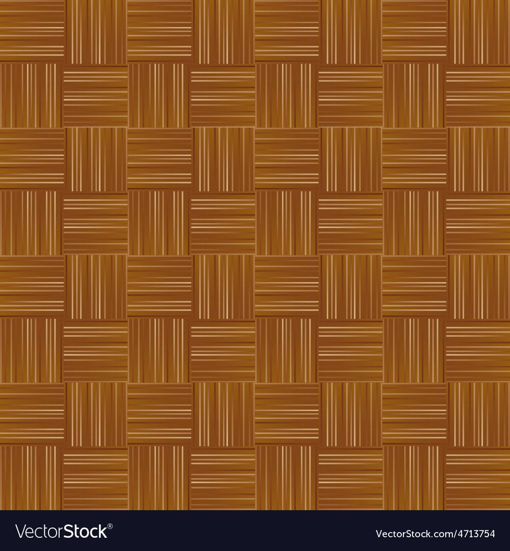 Seamless background wooden parquet vector